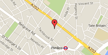 Pimlico London Map.Contact Location St James The Less